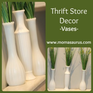 Thrift Store Decor-Vases